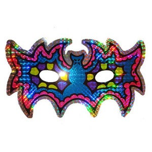 Image of HOLOGRAPHIC BAT MASK