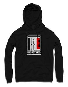 Image of SQUARED BLACK HOODED