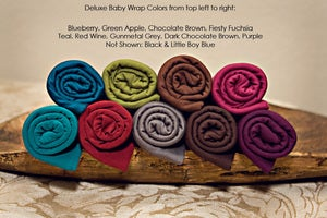 Image of READY to SHIP {Deluxe} Baby Wraps - Photographers Photography Prop