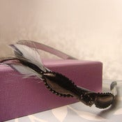 Image of Feather Bow Headband