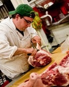 Image of Work Behind the Counter at the Meat Hook (priceless)