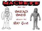 Image of packet heroes MACHETE! by Greasa Greg & mad joe