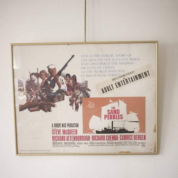 Image of Steve McQueen Sand Pebbles Movie Poster
