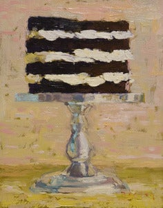 "Image of Four Layer Cake, Giclee Print, 5""x 7"""