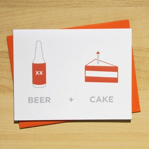 Image of BEER + BIRTHDAY CAKE