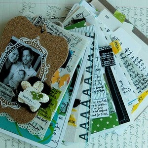 Image of today mini art journal