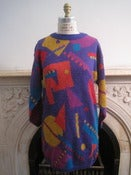 Image of Vintage ESPRIT Colorful Shape Sweater