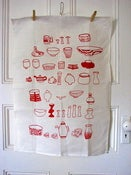Image of Tea Towel Potter's Daugher 100% Linen