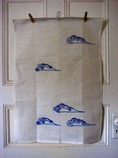 Image of Tea Towel Clouds 100% Linen