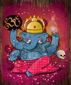 Image of Rockin' Ganesh (signed) - RESTOCKED!