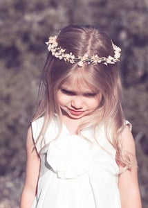 Image of ALLISON - Flower Girl Halo