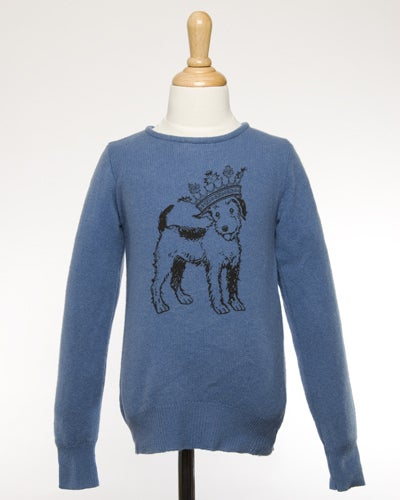 "Image of ""Queenie"" Cashmere Sweater for Kids!"