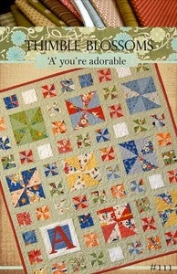 Image of 'A' you're adorable- Pattern 111
