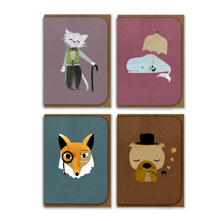 Image of Set of 8 Greeting Cards