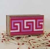 Image of Greek Key Matchbox