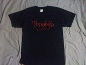 Image of Black Thrashed shirt