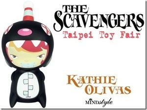 Image of Kathie Olivas Daisey Taipei Toy Festival Edition