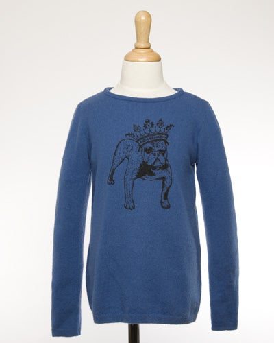 "Image of ""Basil"" Cashmere Sweater for Kids!"