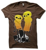 Image of TDR RECORDS<br><i>Yellowmen</i><br>T-Shirt [ltd. 50]