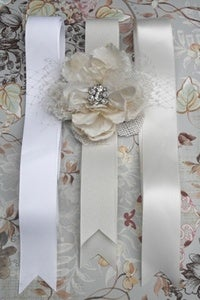 Image of Simple Grosgrain Bridal Sash