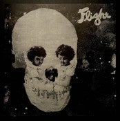 "Image of Flight - Ghosts 7"" limited silkscreened edition of 50 phosphorescent copies !"