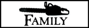 Image of Saw Is Family Bumper Sticker