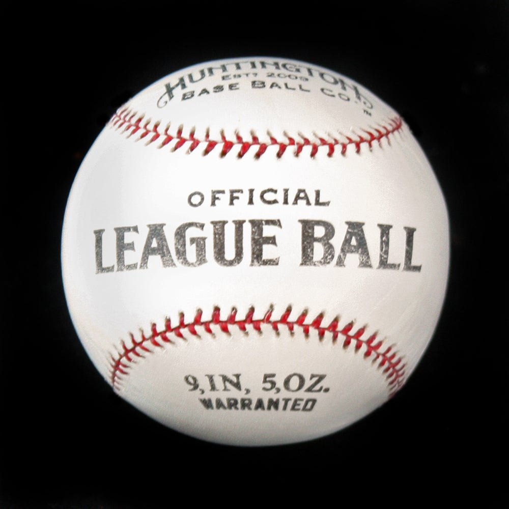 Official 1900 League Ball by Huntington Baseball Co., $39.95