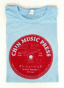 Image of Chin Music Press Record Label Tee
