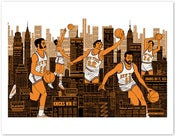 Image of Knicks Print
