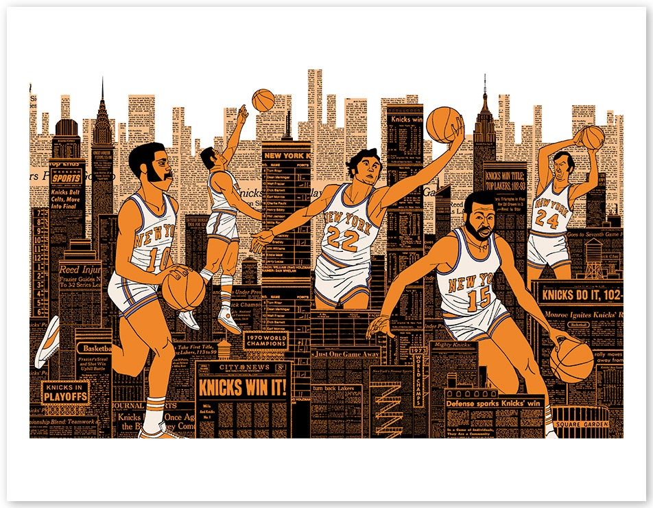 NBA All-Stars Fashion Poster - image 9 - student project