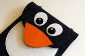 Image of Penguin -  iPad sleeve - MADE TO ORDER