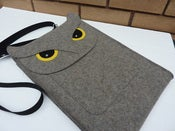 Image of Owl - MacBook Pro 13 inch sleeve - MADE TO ORDER
