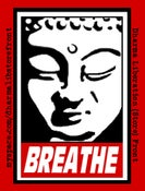Image of &quot;Breathe&quot; Sticker