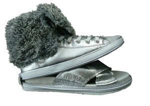 Image of Nat-2 Lind Hi 2 in 1 silver warm fur (W)