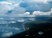"Image of Photograph, 'Clearing Weather, Kvichak Mouth' 1998; ""BRISTOL BAY"" Series"