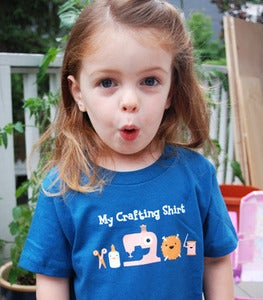Image of My Crafting Shirt - Kids / Toddler T-shirt