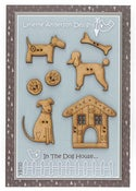 Image of In The Dog House button pack