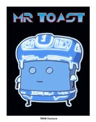 Image of Mr Toast TRON Print - on SALE