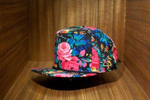 Image of The JOYRICH x AMPAL FLOWERS Snap Back - Black