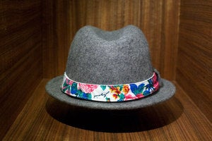 Image of The JOYRICH x AMPAL ALAMEDA Fedora - Gray