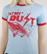 Image of Women's Eat My Dust Plymouth Duster T-Shirt
