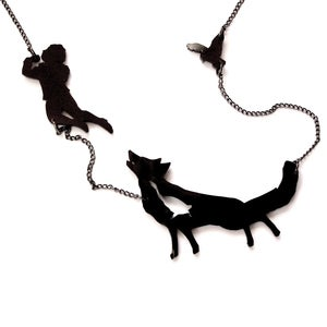 Image of Peter and the Wolf Necklace
