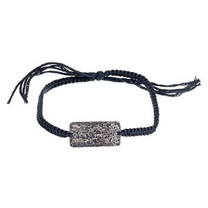 Image of Men's Hammered Disc Friendship Bracelet