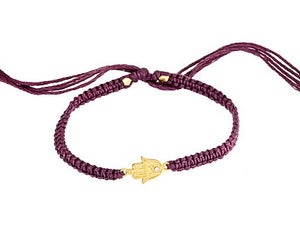 Image of Gold Hamsa Hand Friendship Bracelet