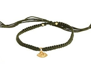 Image of Gold Evil Eye Friendship Bracelet