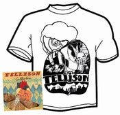 Image of Tellison - Collarbone 7&quot; (with MP3 EP) and t-shirt