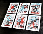 Image of The Heroes of Folk Letterpress Card Collection