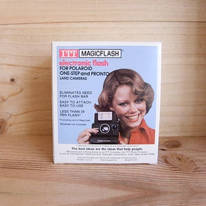 Image of External Electronic Flash for Polaroid SX 70 