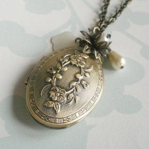 Image of Beloved Locket Necklace