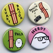Image of Mr Toast&amp;#x27;s Pals Button